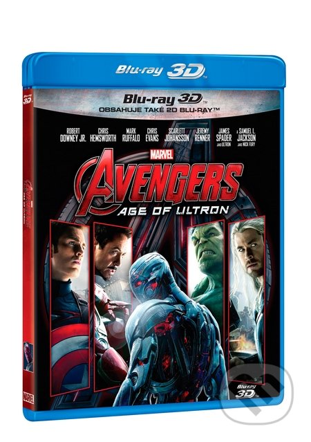 Avengers: Age of Ultron 3D BLU-RAY3D