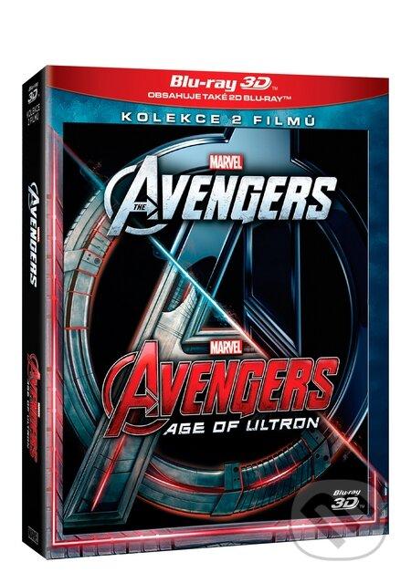Avengers kolekce 3D 1.-2. BLU-RAY