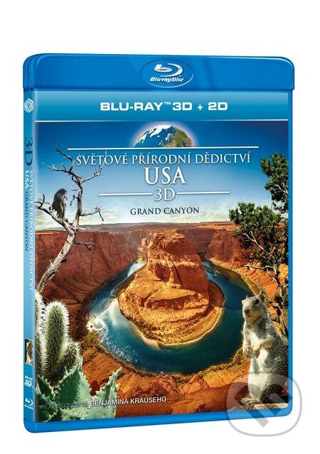 Světové přírodní dědictví: USA - Grand Canyon 3D BLU-RAY3D