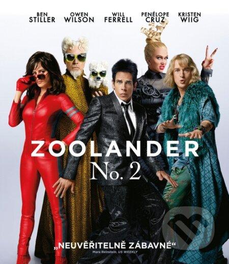 Zoolander No. 2 DVD