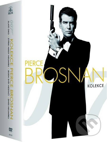 Pierce Brosnan kolekce DVD