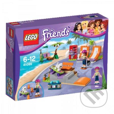 LEGO Friends 41099 Skatepark v mestečku Heartlake -