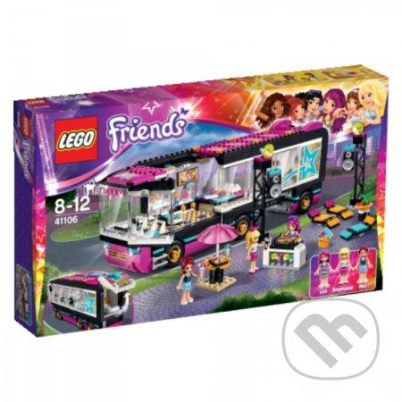 LEGO Friends 41106 Autobus na turné popových hviezd -