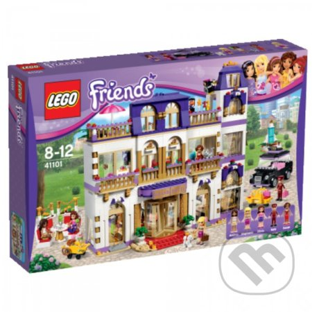 LEGO Friends 41101 Hotel Grand v mestečku Heartlake -