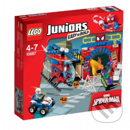 LEGO Juniors 10687 Spider-Manova™ skrýša -