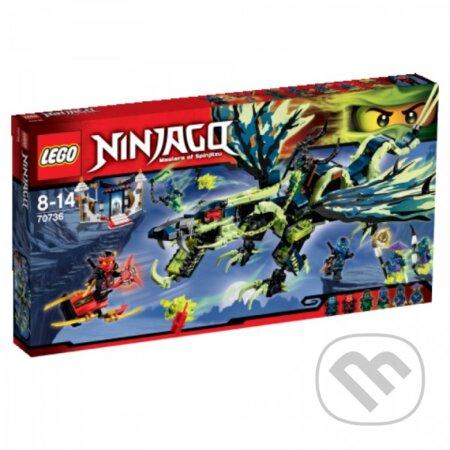 LEGO Ninjago 70736 Útok draka Morro -