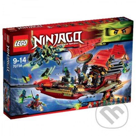 LEGO Ninjago 70738 Posledný let Odmeny osud -
