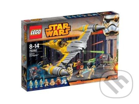 LEGO Star Wars TM 75092 Naboo Starfighter™ (Hviezdna stíhačka Naboo) -