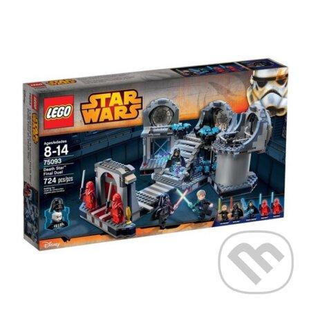 LEGO Star Wars TM 75093 Konečný súboj Death Star™ (Konečný súboj Hviezdy smrti) -