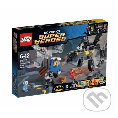 LEGO Super Heroes 76026 Vystrájanie Gorily Grodd -