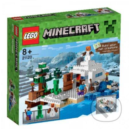LEGO Minecraft 21120 Snežná skrýša -