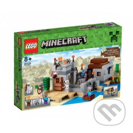 LEGO Minecraft 21121 Púštna hliadková stanica -