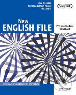 New English File - Pre-Intermediate - Workbook without key - Clive Oxenden