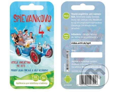 Spievankovo 4 DVD