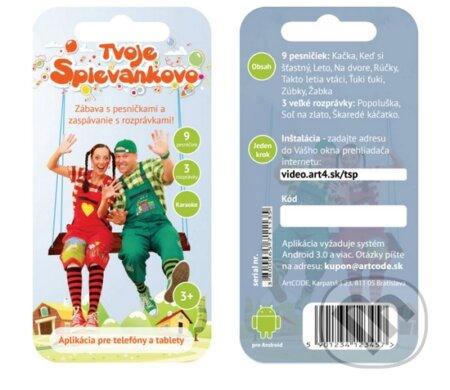 Tvoje Spievankovo DVD