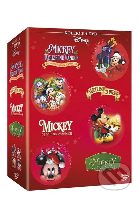 Vánoční Mickey kolekce DVD