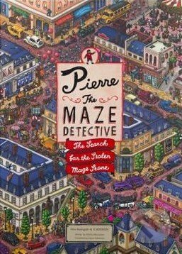 Pierre the Maze Detective - Hiro Kamigaki