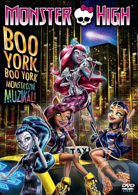 Monster High: Boo York DVD