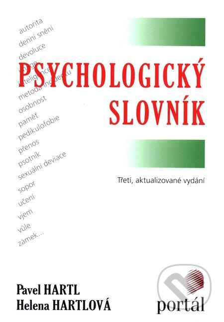 Psychologický slovník - Pavel Hartl, Helena Hartlová
