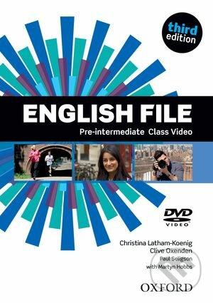 New English File - Pre-Intermediate - Class DVD - Christina Latham-Koenig, Clive Oxenden, Paul Seligson, Martyn Hobbs