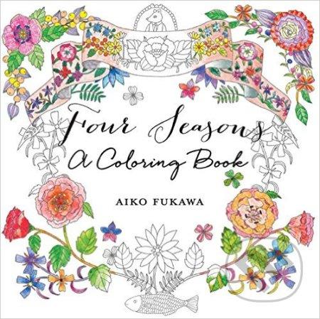 Four Seasons: A Coloring Book - Aiko Fukawa