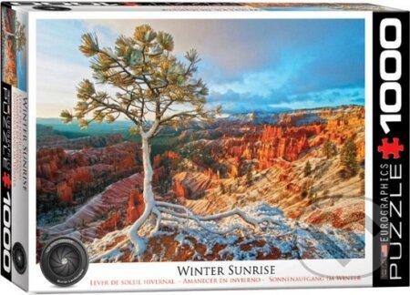 Grand kaňon Zimní slunce -