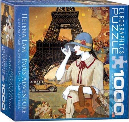 Dobrodružství v Paříži - Helena Lam