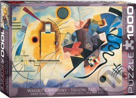 Kandinsky Žlutá, červená, modrá - Wassily Kandinsky