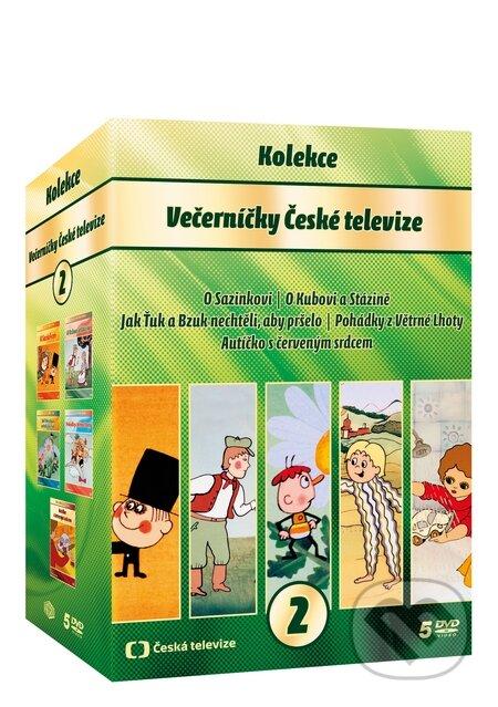 Večerníčky kolekce 2 DVD