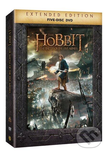 Hobit: Bitva pěti armád Prodloužená verze DVD