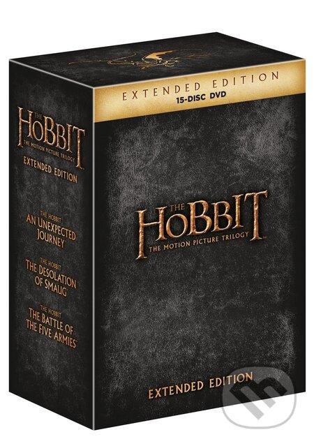 Hobit kolekce 1.-3. Prodloužené verze DVD