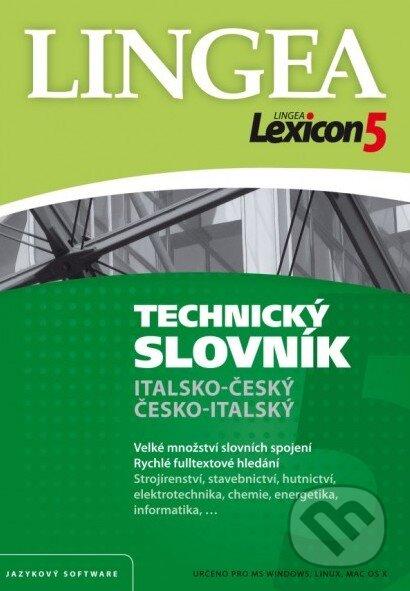 Lexicon 5: Italsko-český a česko-italský technický slovník (Licencia) -