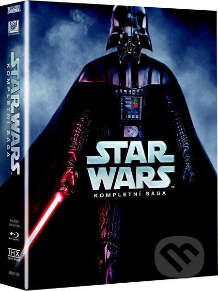 Kompletní kolekce filmů Star Wars: The Complete Saga I - VI BLU-RAY