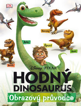 Hodný dinosaurus - Obrazový průvodce -