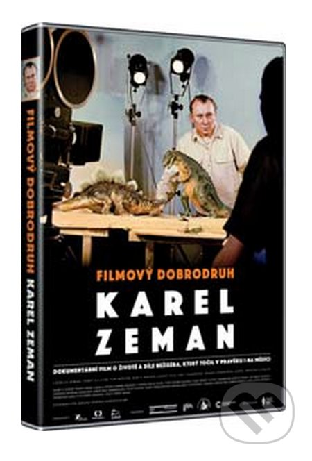 Filmový dobrodruh Karel Zeman DVD