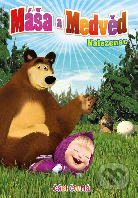Máša a medvěd 4. DVD