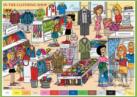 In The Clothing Shop (V butiku s oblečením) -