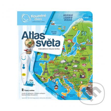 Kouzelné čtení Kniha Atlas světa -