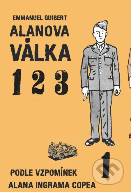 Alanova válka 1-2-3 - Emmanuel Guibert