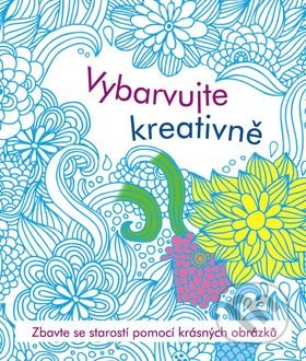 Antistresové omalovánky - vybarvujte kreativně -