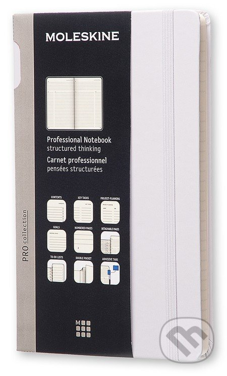 Moleskine – Professional diár/zápisník -