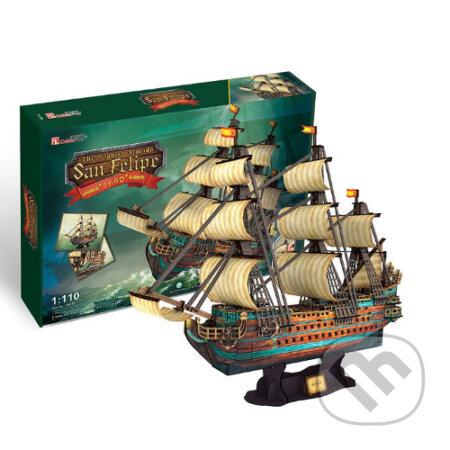 Španielska loď - San Felipe - PUZ-T4017h