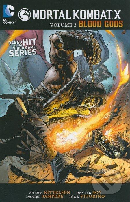 Mortal Kombat X: Blood Gods - Shawn Kittlesen, Dexter Soy a k olektív