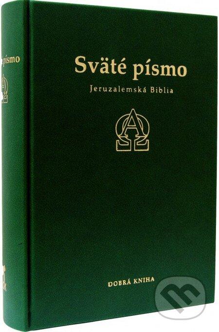 Sväté písmo - Jeruzalemská Biblia (zelená obálka) -