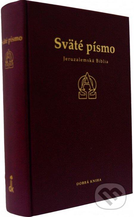 Sväté písmo - Jeruzalemská Biblia (bordová obálka) -