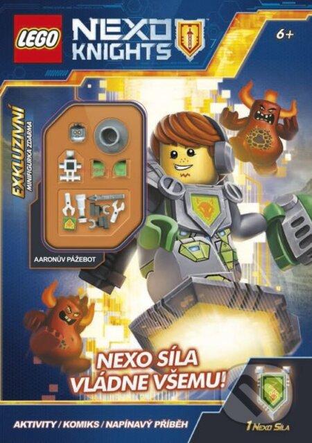 LEGO NEXO KNIGHTS: NEXO síla vládne všemu! -
