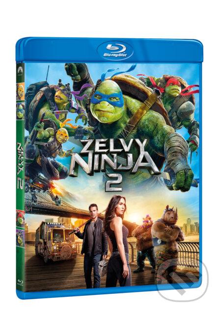 Želvy Ninja 2. BLU-RAY