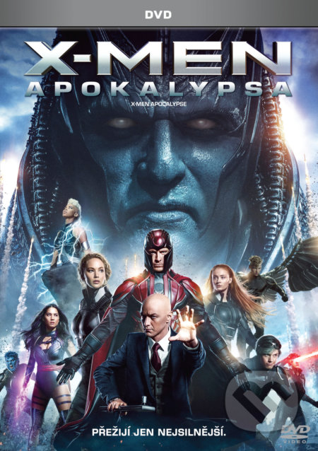 X-Men: Apokalypsa DVD
