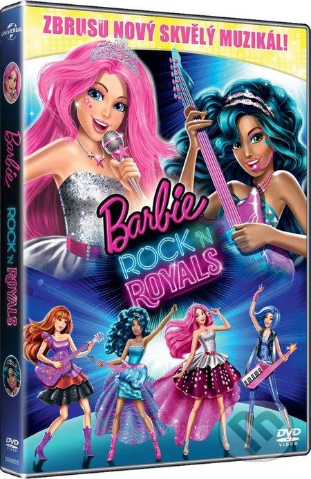 Barbie: Rock \'n Royals DVD