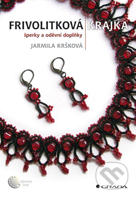 Frivolitková krajka - Jarmila Kršková